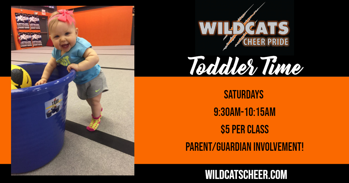 mommy and me toddler cheer tumbling class